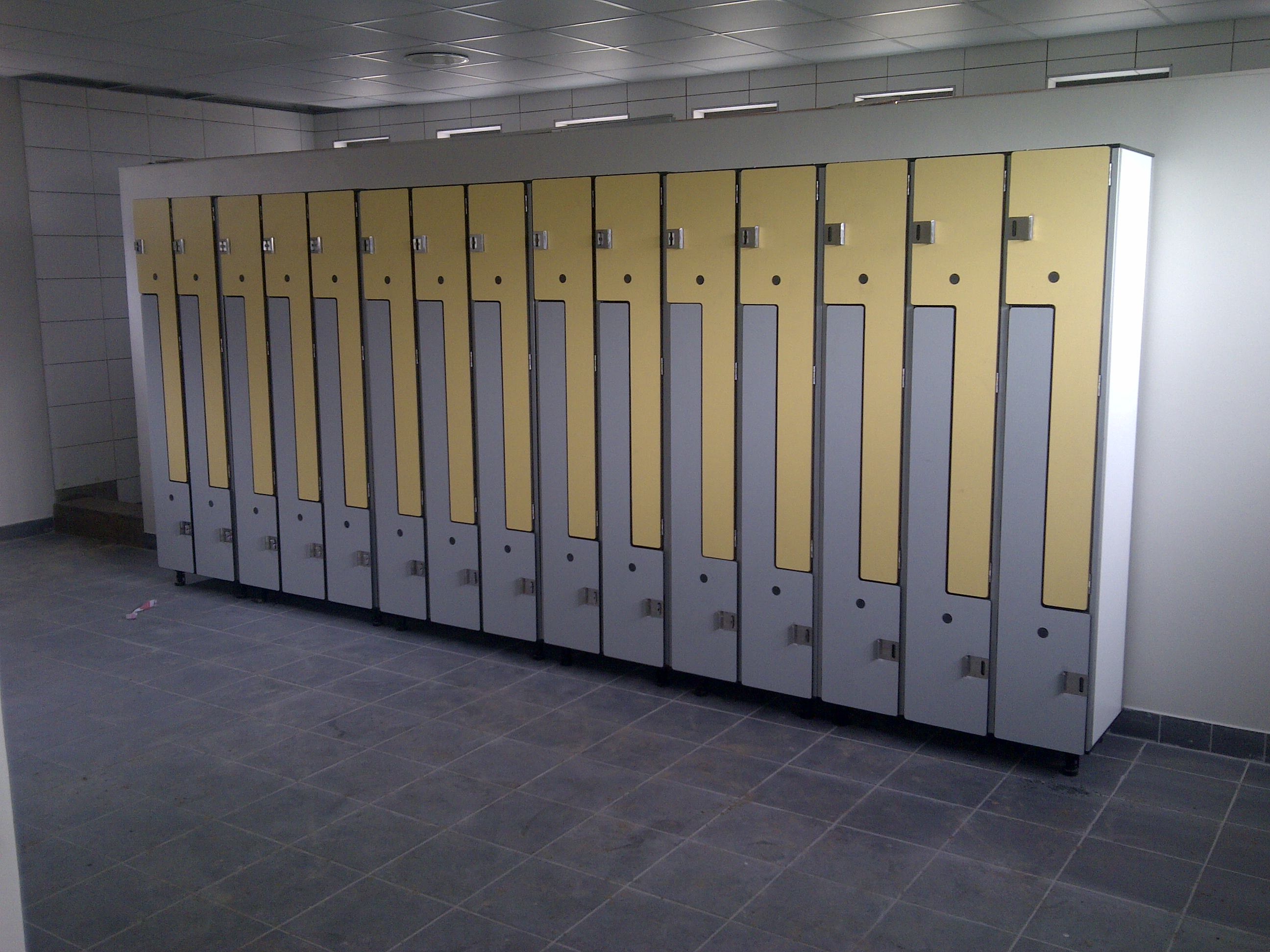 Cubicle Solutions built lockers for BHP Billiton