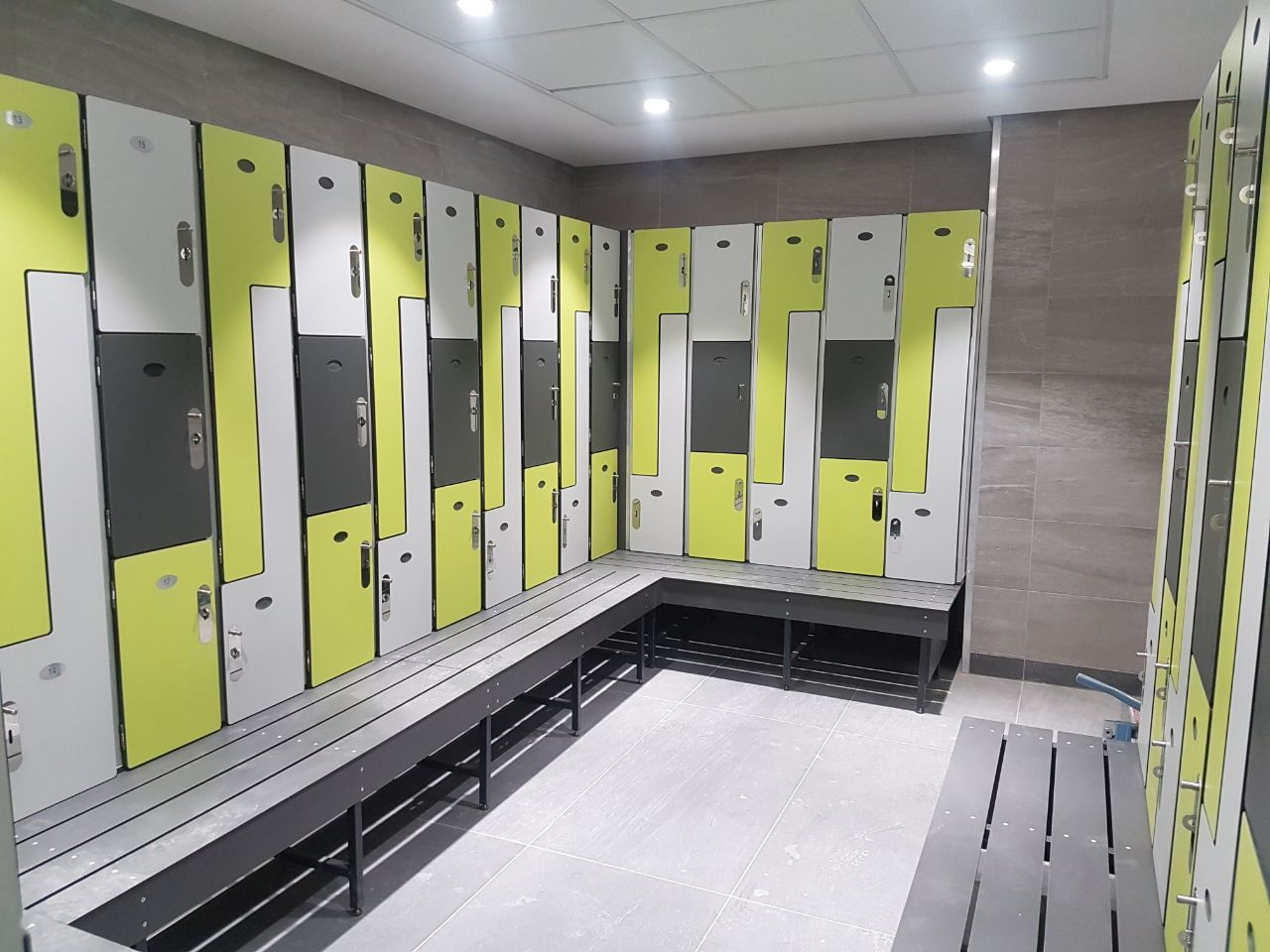 Locker Bench Combination Cubicle Solutions